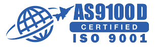 ISO 9000:2015 and AS9100D Logo